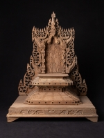 Old teakwooden Burmese Throne from Burma made from Wood
