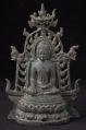 Very special bronze Pyu Buddha statue from Burma made from Bronze