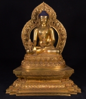 High quality Nepali bronze Medicine Buddha from Nepal made from Bronze