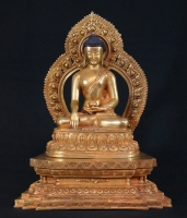 New Nepali Buddha Statue from Nepal made from Bronze