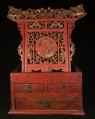 Antique chinese altar from China made from Wood