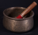 Antique Nepali singing bowls from Nepal made from Bronze