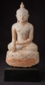 Antique Burmese alabaster Buddha statue from Burma made from Marble